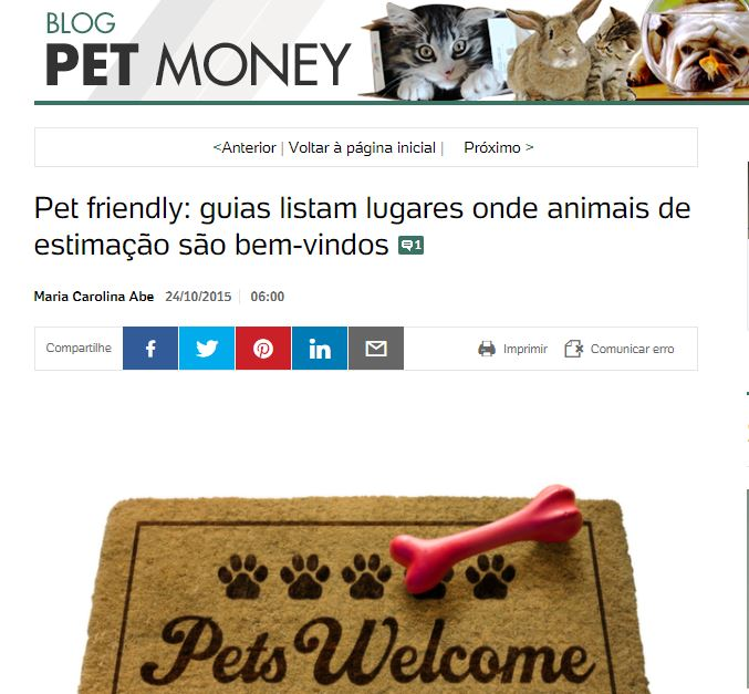 Blog Pet Money UOL